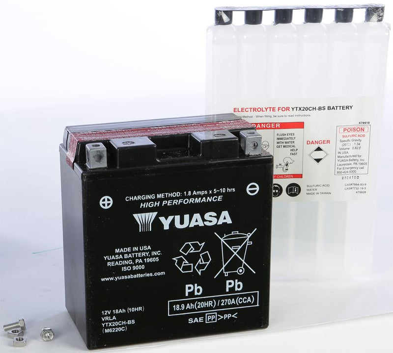 Battery Ytx20ch-bs