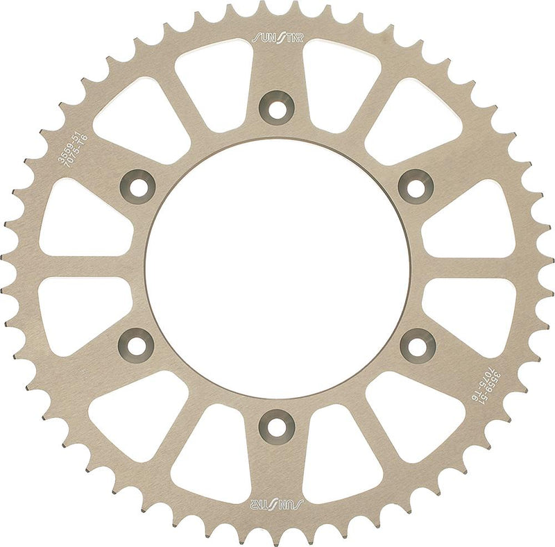 Rear Sprocket Aluminum 53t