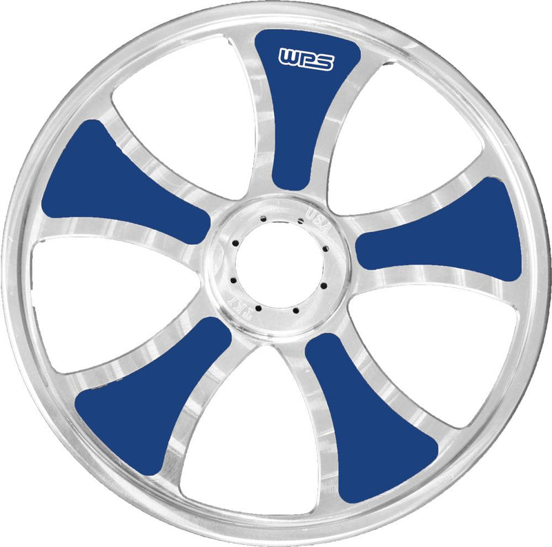 "Limited Billet Wheel Inserts Blue 9"" 10-pk"