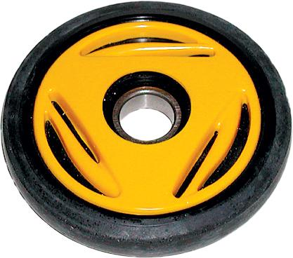 "Idler Wheel Yellow 5.31""x25mm"