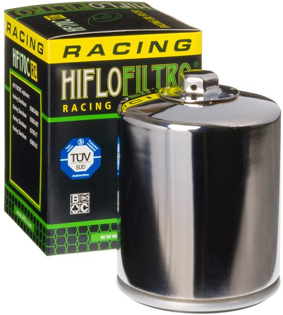 Race Oil Filter Chrome