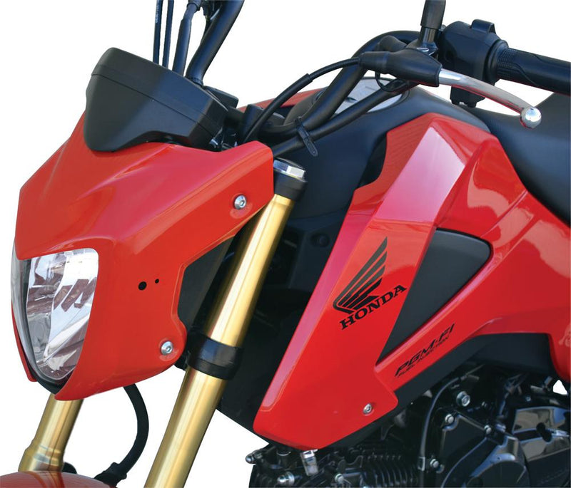 Grom Body Part Front Fairing Pearl Valentine Red