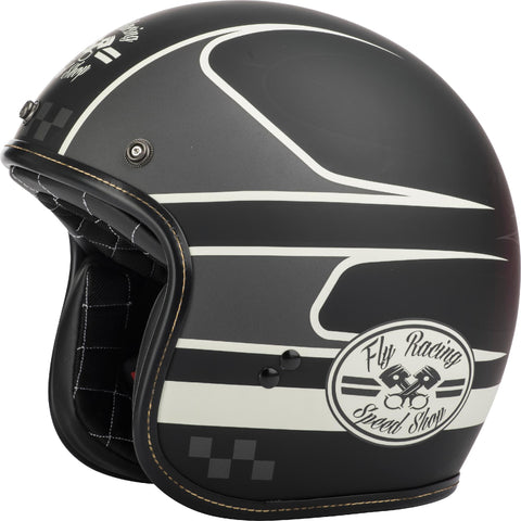 .38 Wrench Helmet Black/vintage White Xs