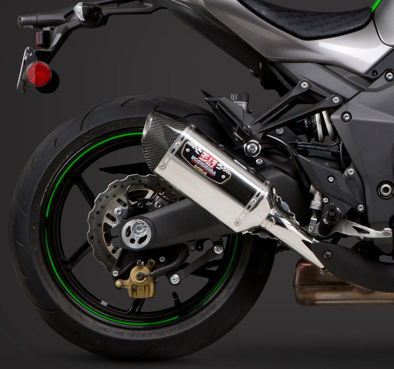 Signature Dual R-77 Slip-on Exhaust Ss-cf-cf
