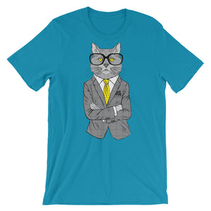 NOLA Bar Cats Fashion Cat Series Tee - Lawyer Cat