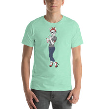 NOLA Bar Cats Fashion Cats Pin Up Cat Unisex Tee