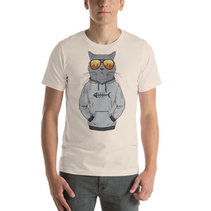 NOLA Bar Cats Fashion Cat Series - Hoodie Cat Unisex Tee