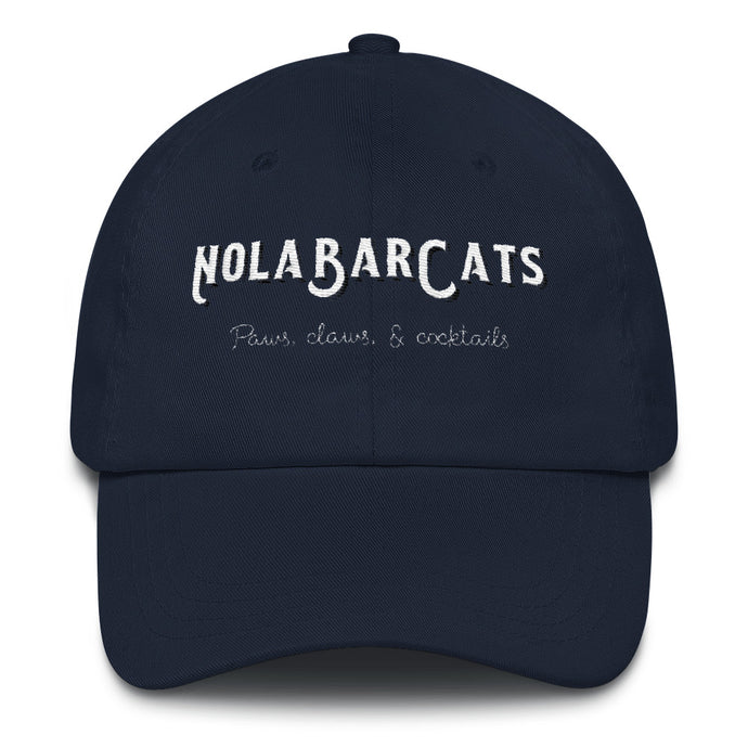 NOLA Bar Cats Logo Baseball Cap
