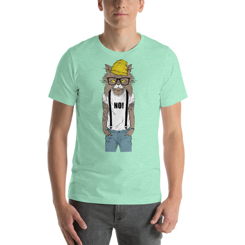 NOLA Bar Cats Fashion Cat Series - Hipster Cat Unisex Tee