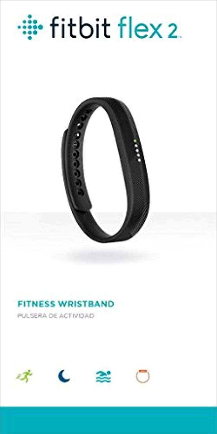 Fitbit Flex 2, Black , (1 Count )