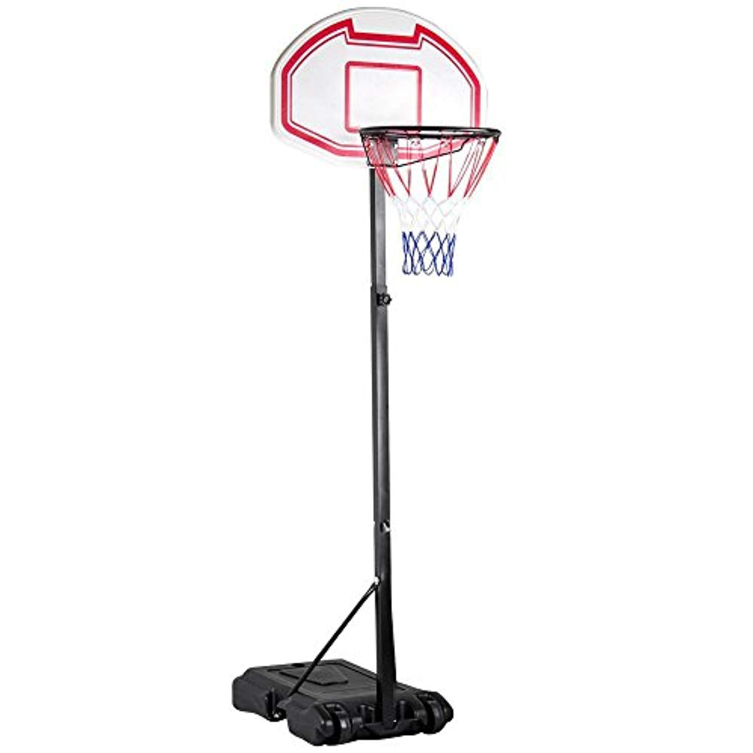 Indoor Outdoor Basketball stand Backboard withWheels