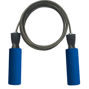 Adjustable skipping Rope with Carrying Pouch - for Men, Women and Children
