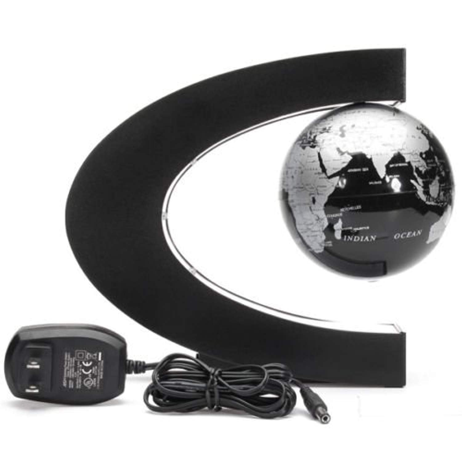 Magnetic Levitation Floating Globe for Rugby Kids to know teams around the world