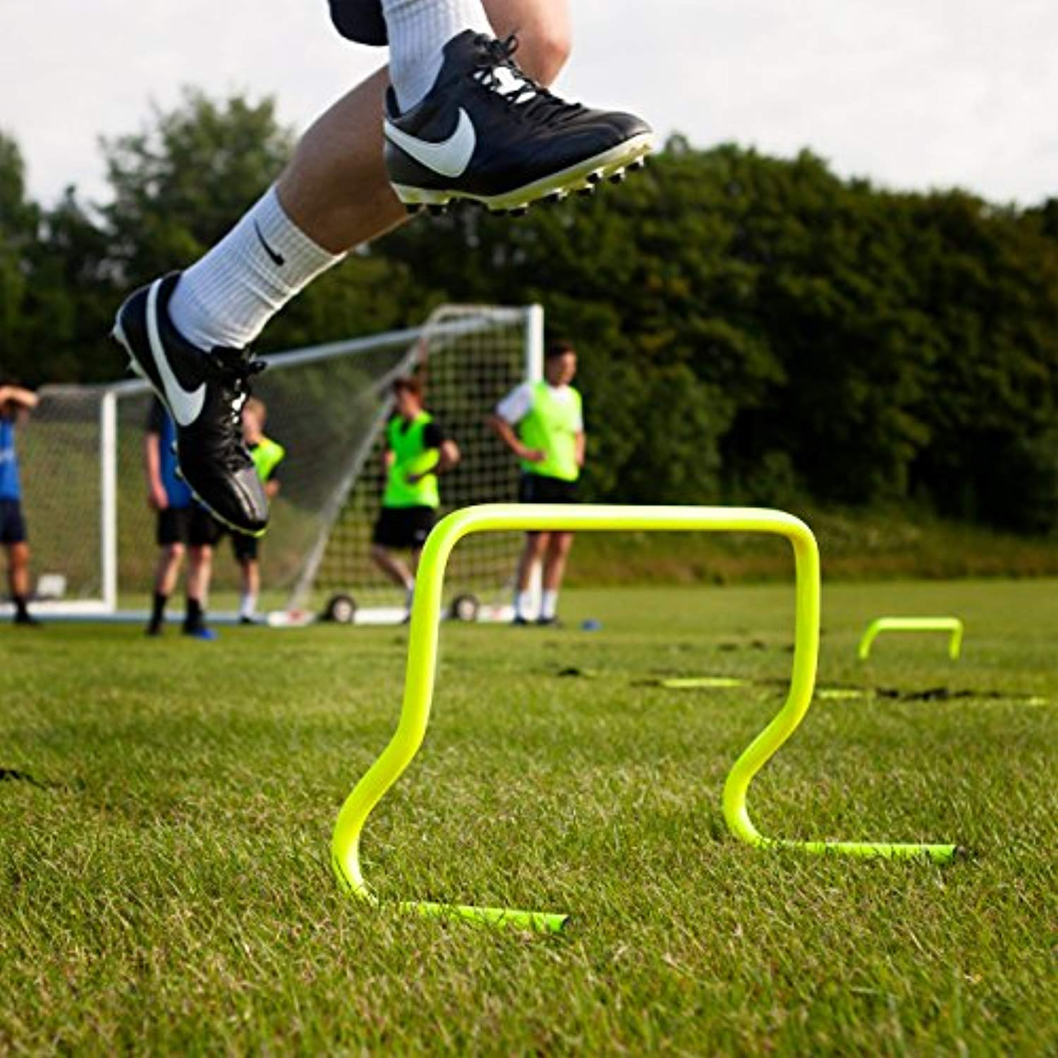 soccer speed hurdles