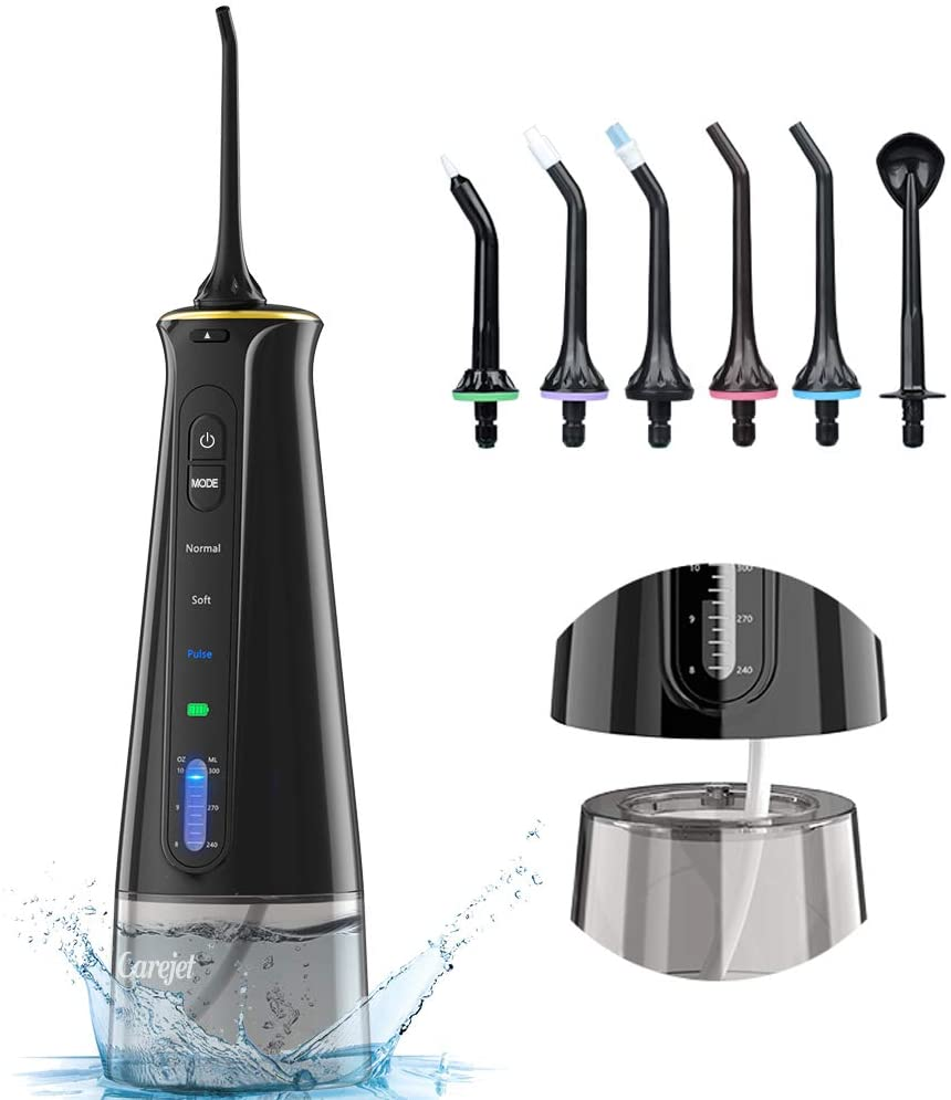Water Flosser for Teeth Cordless - With each Lifestyle order receive complimentary sports brand products to enhance your workout.
