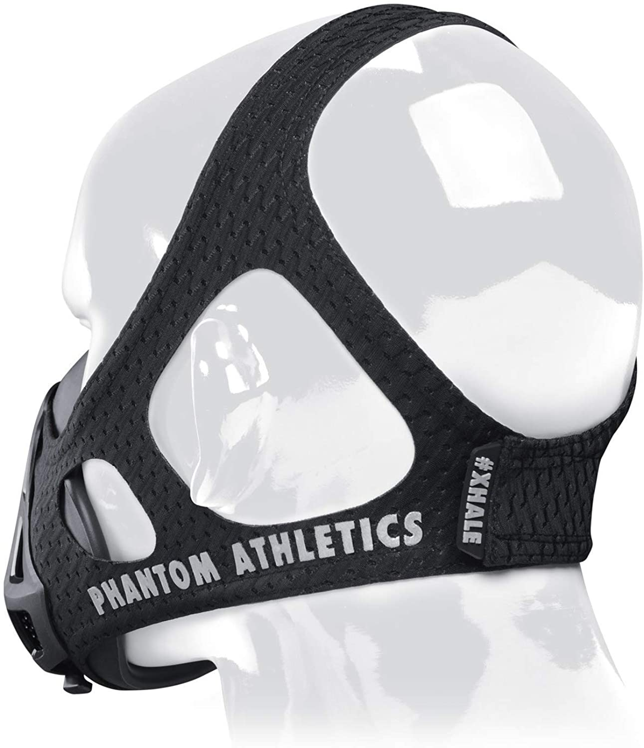 Professional Gym Training Mask - Breathing resistance training for better performance in sports - Black