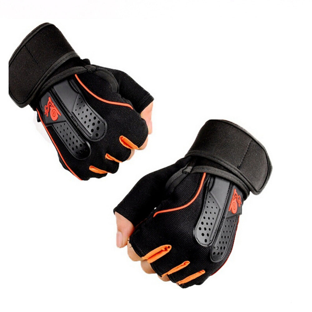 1 Pair Men/Women Anti Slip Weightlifting Gloves