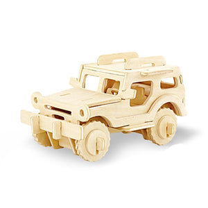 Environmental Assemble - Children/Adults vehicle Puzzle (3D)