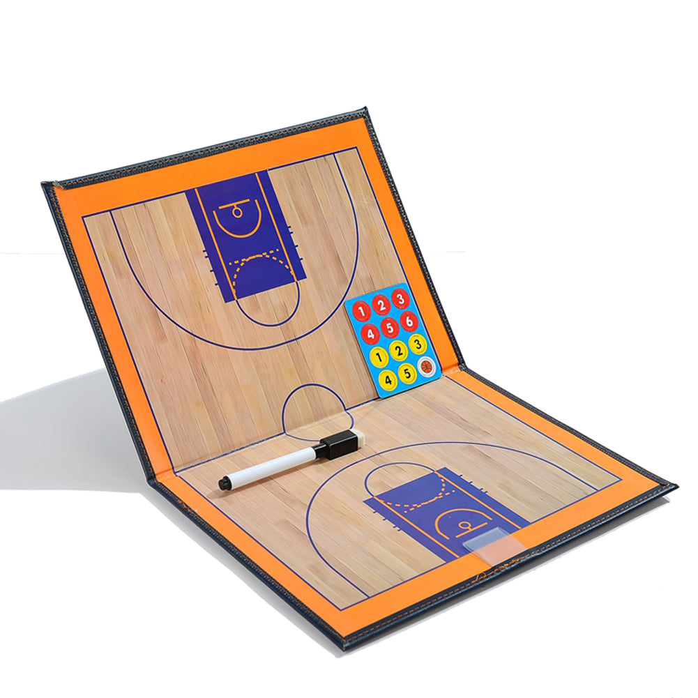 Professional basketball strategy board
