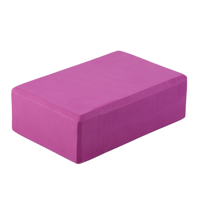 PIERYOGA Practice Fitness Gym Sport Tool Yoga Block Brick Foaming Foam Home Exercise Fitness Tool keep slim weiht loss fitness