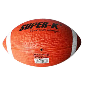 Soft Rubber American Football No. 9# Rugby Ball Safety Sport Balls for Child Kids Young Men Women American Football ball