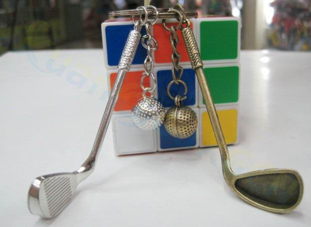 Tennis Ball Key rings