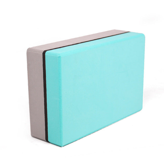 1 pcs Yoga Block Fitness Foam Pilates Brick Massage Muscle Training Workout Bodybuilding Home Equipment Blocks For Yoga