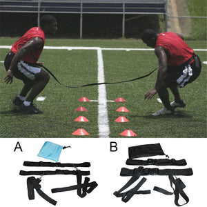 Football Soccer Agility Training Belt Defensive Speed Reaction
