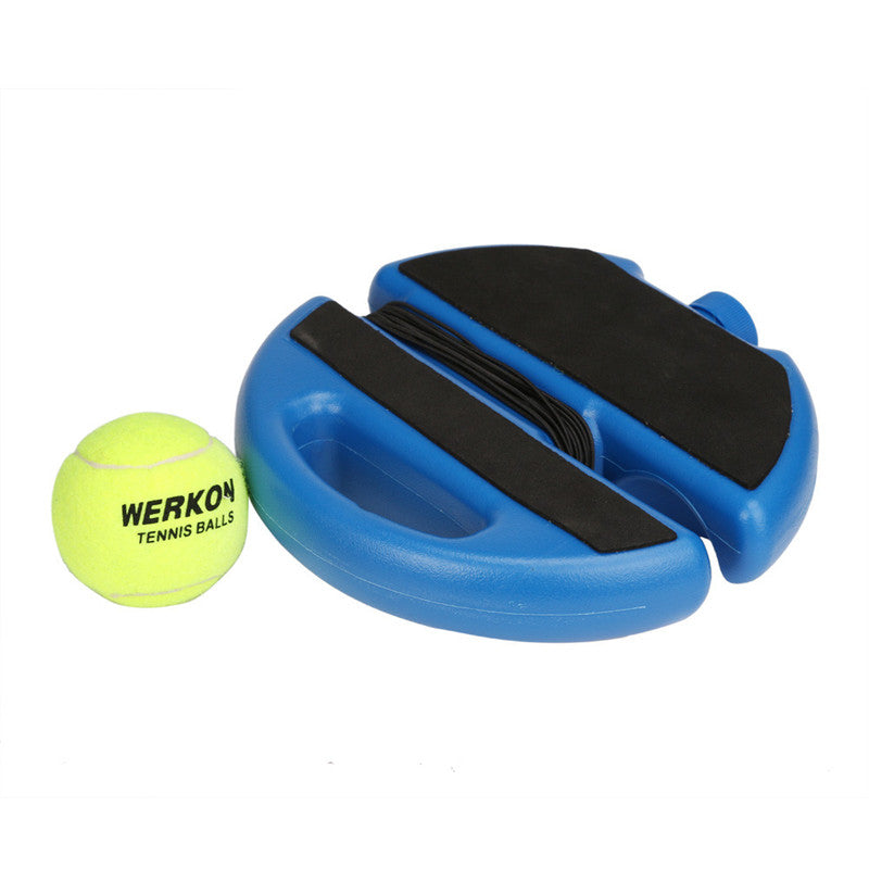 Tennis Ball Singles Training Practice Balls Back Base Trainer