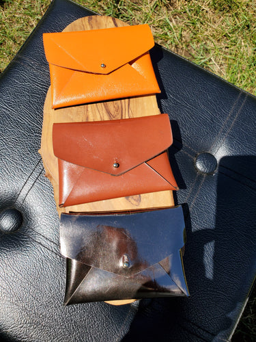 Leather Card Holder - Amber Poitier Inc.