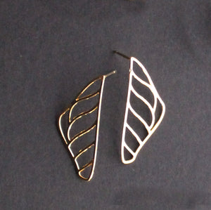 Marisol Stud Earring Gold Finish