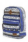 Animal Burst Backpack in Clematis Blue