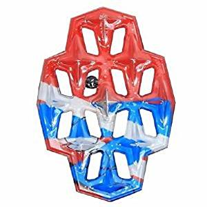 Demon Armor Plate Snowboard Stomp / Traction Pad in clear or red
