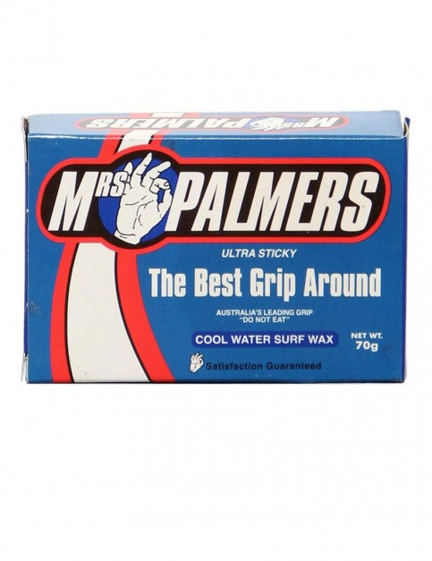 Mrs Palmers Ultra Sticky Cool Surfboard Wax
