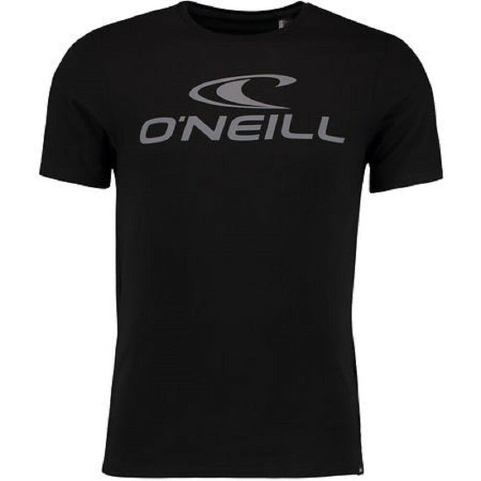 O'Neill Mens Jacks Logo T Shirt in Black Out