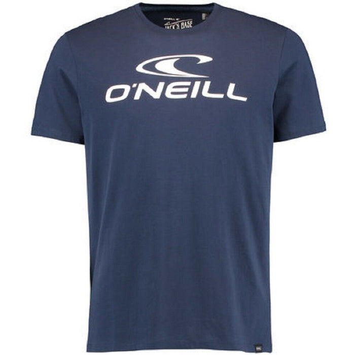 O'Neill Mens Jacks Logo T Shirt in Ink Blue