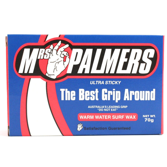 Mrs Palmers Ultra Sticky Warm Surfboard Wax