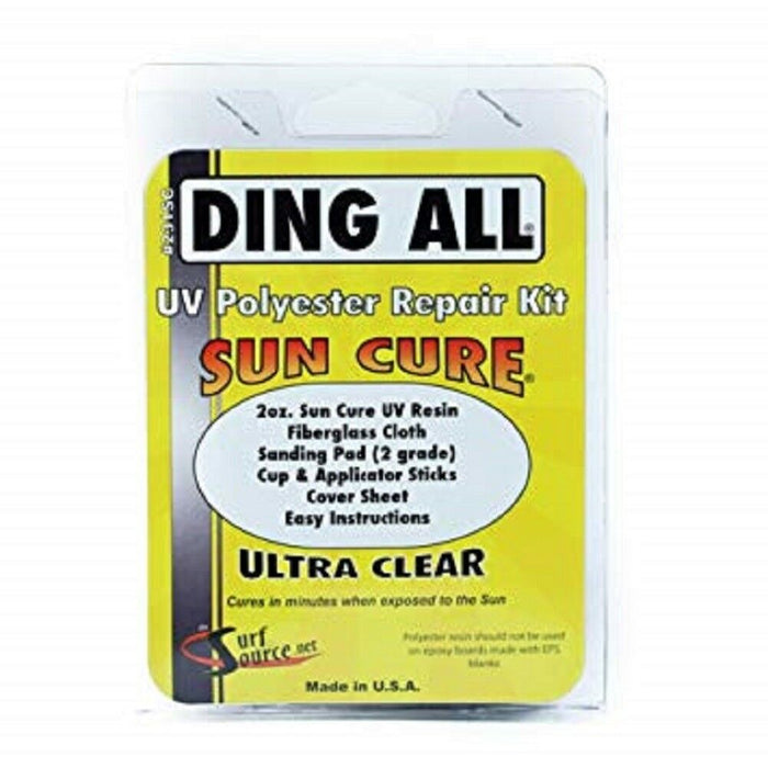 Ding All Sun Cure Polyester Repair Kit