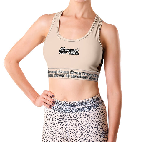 Camel Gold Crop Top (Sweatgear)