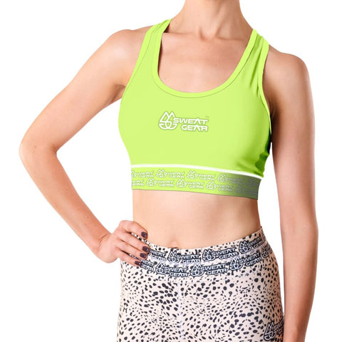 Classic Lime Crop Top (Sweatgear)