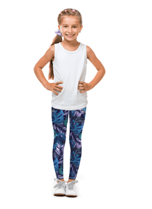 Deep Blue Zinnea Tight (Sweatgear.Kids)