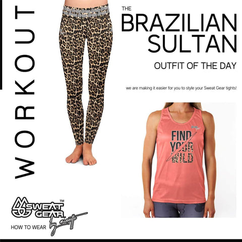 Brazilian Sultan Tight / Find Your Wild Vest
