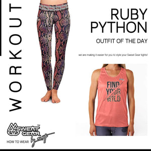 Ruby Python Tight / Find Your Wild Vest