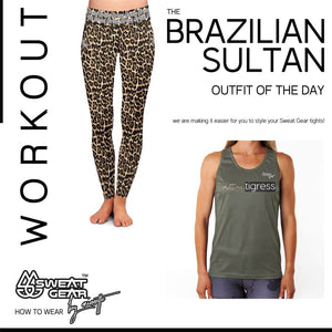 Brazilian Sultan Tight / Easy Tigress Vest