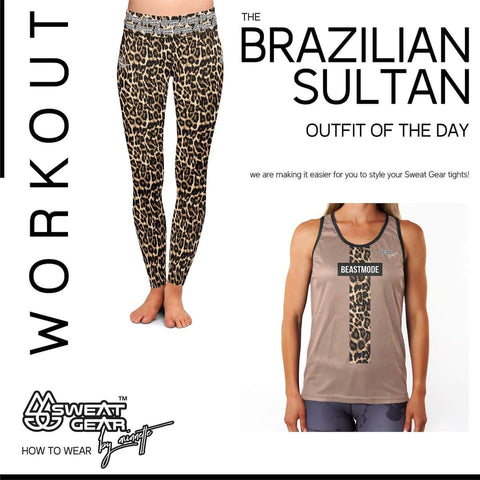 Brazilian Sultan Tight / Beastmode Vest