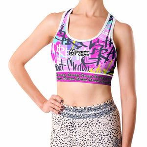 Graffiti Girl Crop Top (Sweatgear)