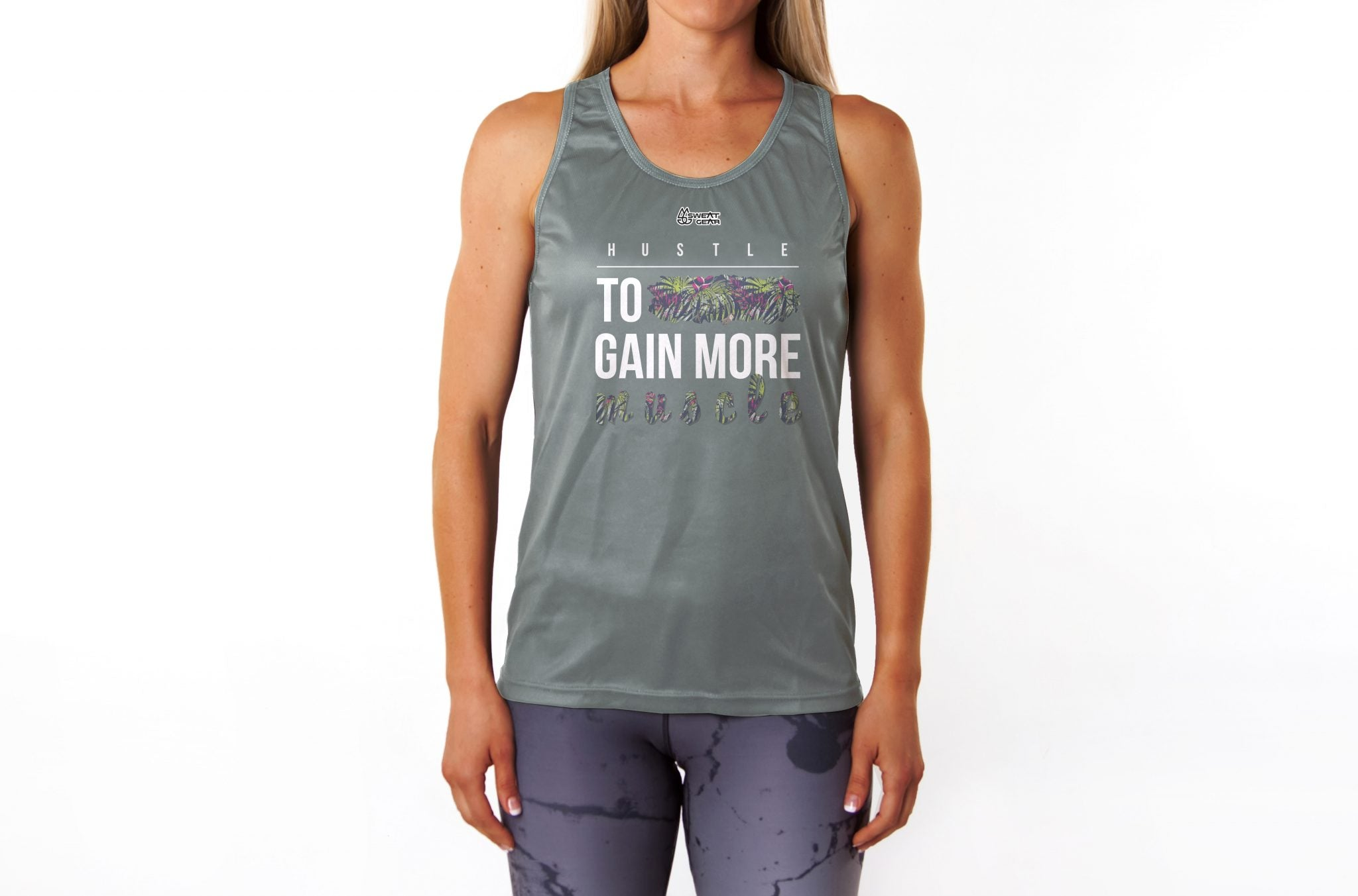Hustle To Gain More Muscle Vest (Sweatgear)