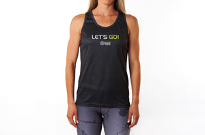 Let's Go! Black Vest (Sweatgear)