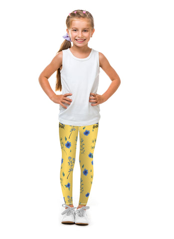 Mustard Poplar Tight (Sweatgear.Kids)