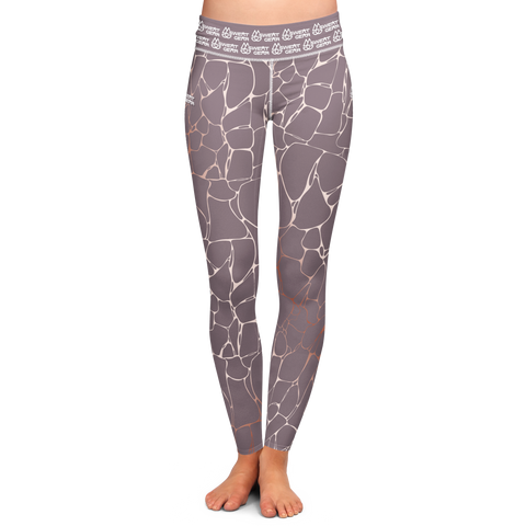Marble Mauve Tight (Sweatgear)